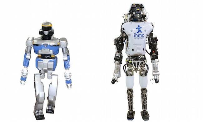 DARPA Robotics Challenge, HRP2 and Running Man