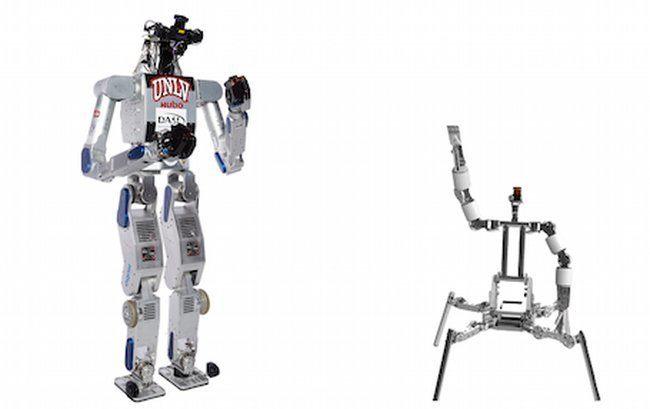 DARPA Robotics Challenge, Metal Rebel and Cog Burn