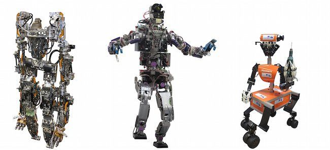 DARPA Robotics Challenge, Hydra, Jaxon and Momaro.