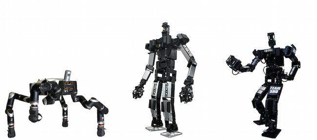 DARPA Robotics Challenge, RoboSimian, Thormang and Florian.