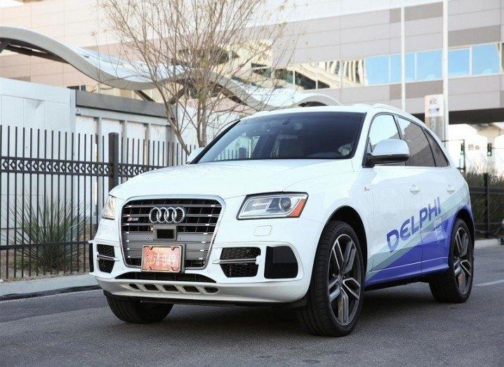 Delphi's Audi car