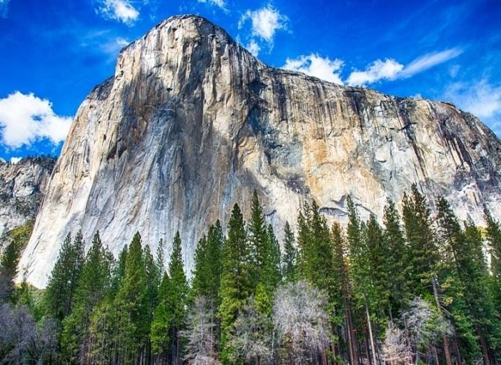 El Capitan cliff face