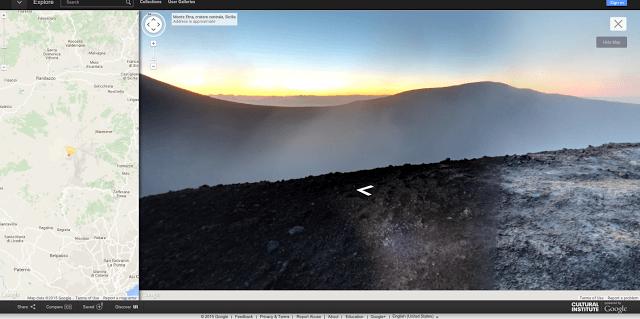 Mount Etna Erupts – Mount Etna on Google Maps