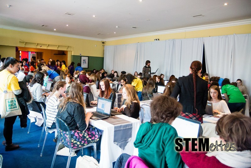 The Girls Hack Ireland event from March this year