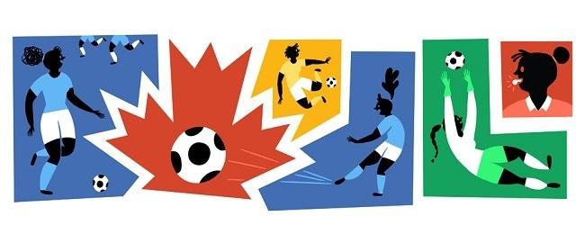 Women's World Cup Google Doodle