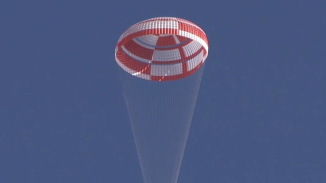 The LDSD parachute