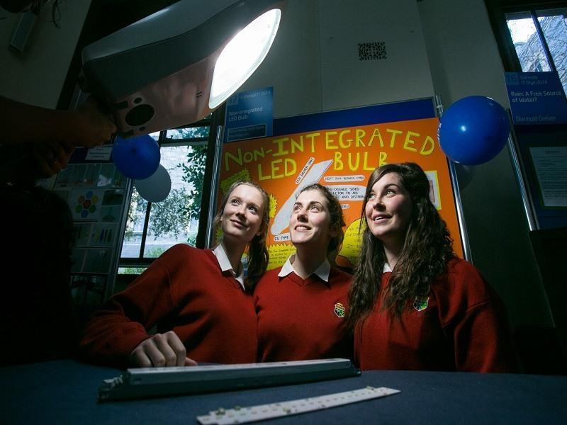 Irish students' bright LED idea wins international prize