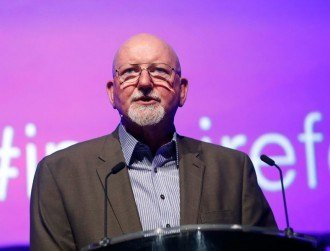 Leo Enright treats Inspirefest 2015 to historic Pluto imagery