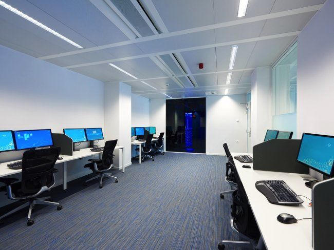 Microsoft's transparency centre in Brussels