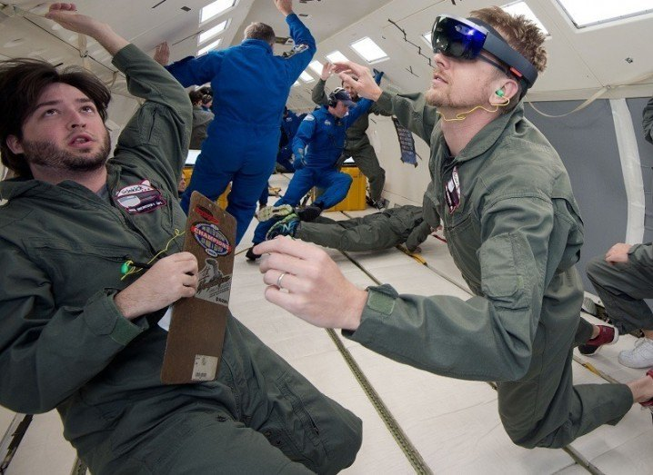 NASA testing HoloLens in zero-gravity