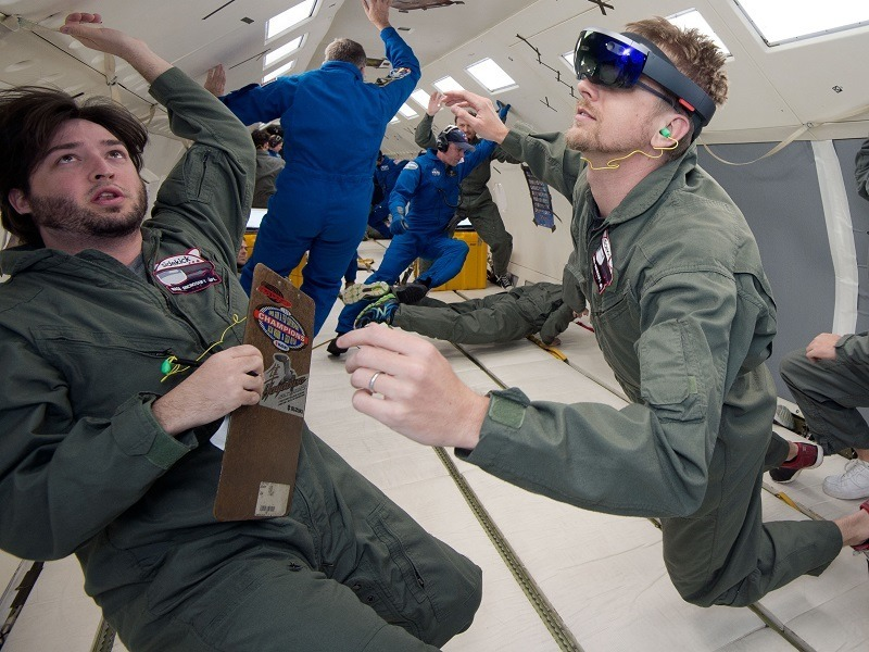 NASA astronauts to have a new Sidekick aboard the ISS with HoloLens