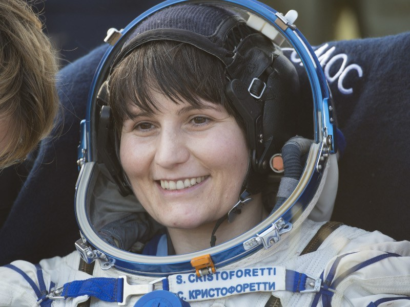 Samantha Cristoforetti back on Earth, via ESA-S. Corvaja