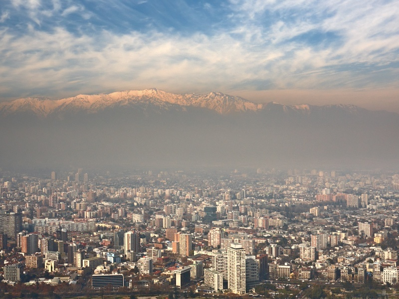 Santiago, Chile in 'state of environmental emergency'