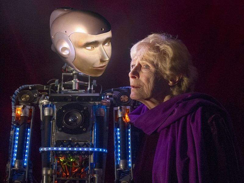 Spillikin, a love story between a robot and an elderly woman