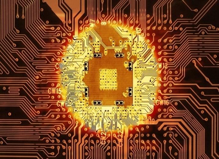 Solar efficient chip