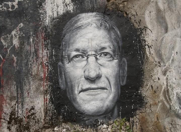 Tim Cook mural