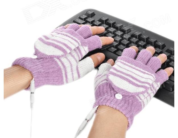 USB warming gloves