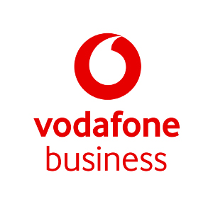 Vodafone Business red logo