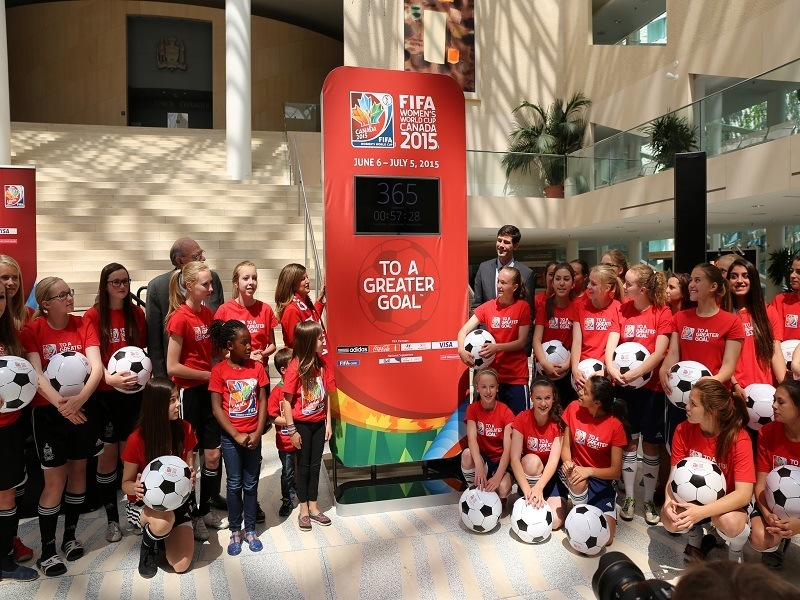 Women's World Cup celebrated by Google Doodle