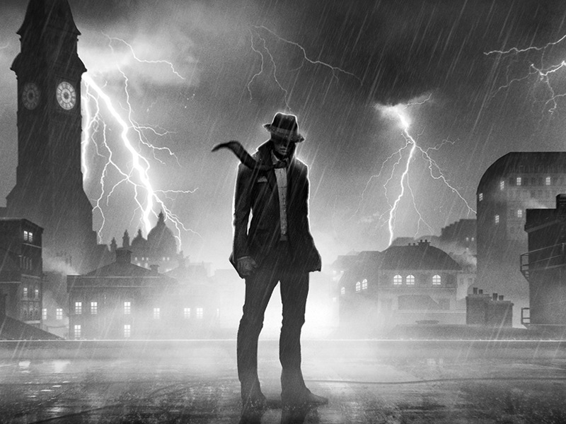 Film noir-style stealth adventure Calvino Noir announced for PS4