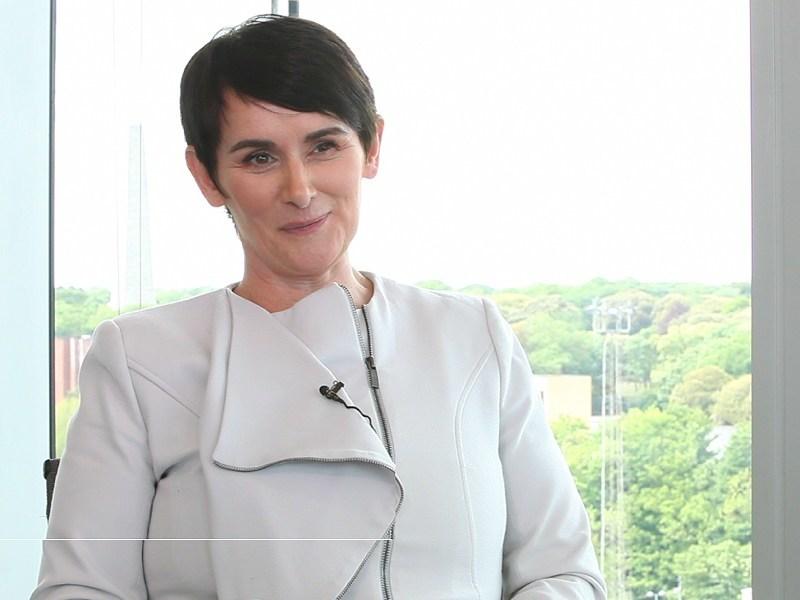 Inspirefest speaker Carolan Lennon on her leadership journey(video)