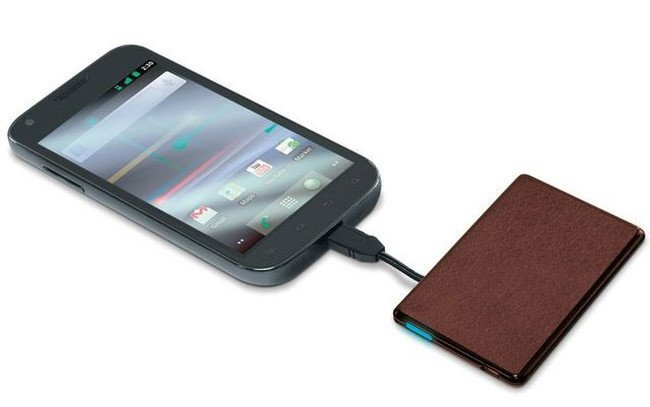 8 cool phone chargers - Credit Card