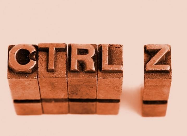 Ctrl Z image