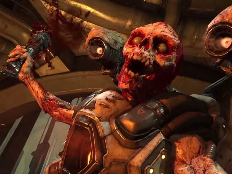 New fully-violent Doom trailer is released