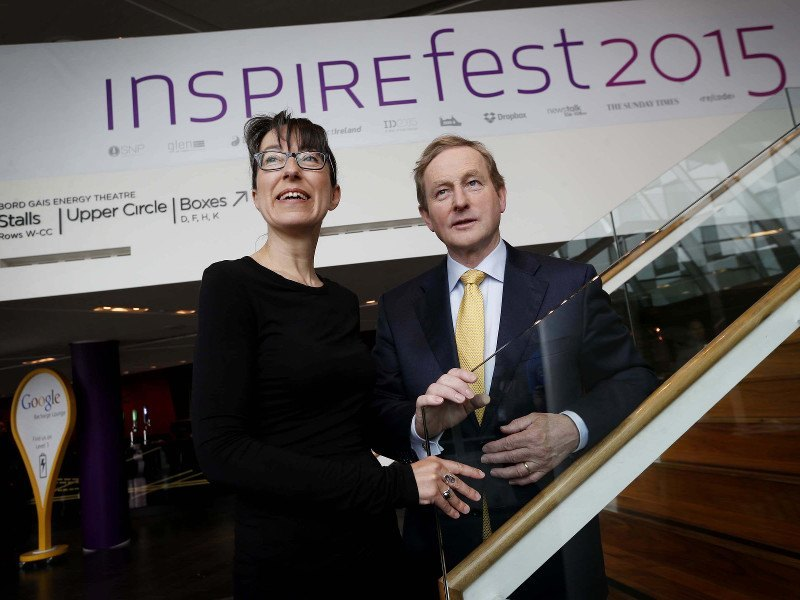Our talent is not just 'luck of the Irish' says Enda Kenny as he opens day two of Inspirefest