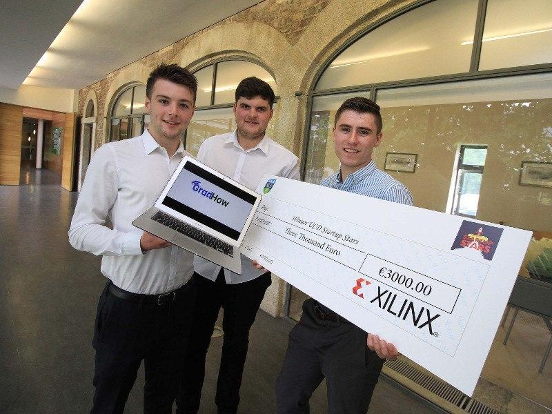 UCD student start-up GradHow wins Start-up Stars programme