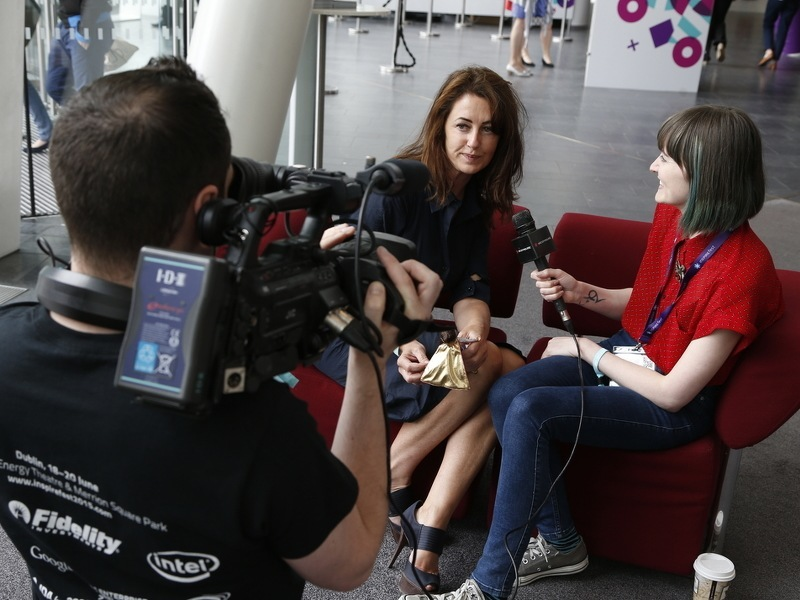 Powerful, positive, fantastic: Inspirefest's off-stage impact (video)