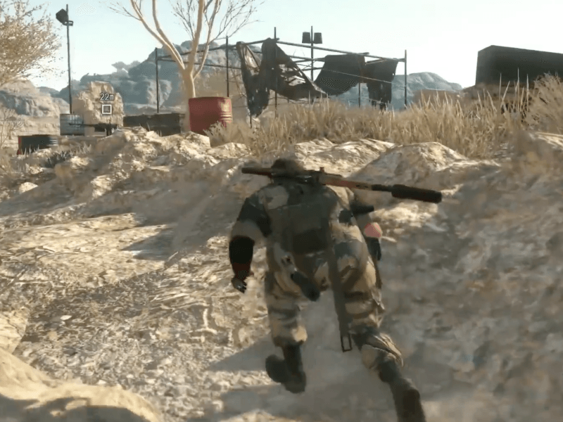 40 minutes of Metal Gear Solid V footage released