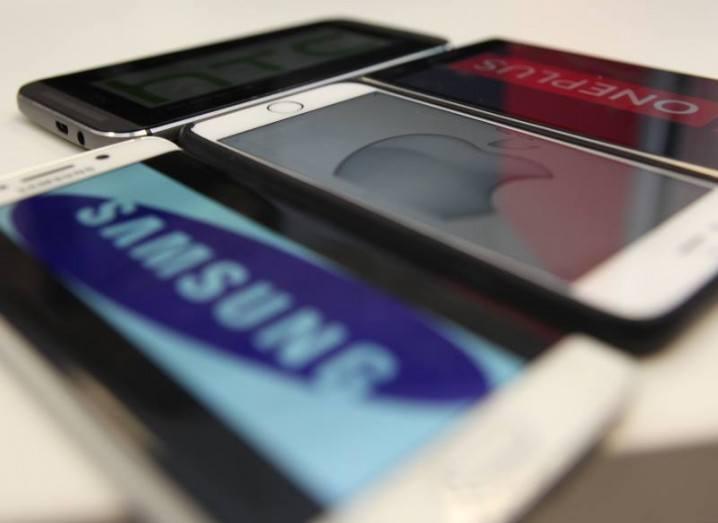 Premium smartphones: iOS Android