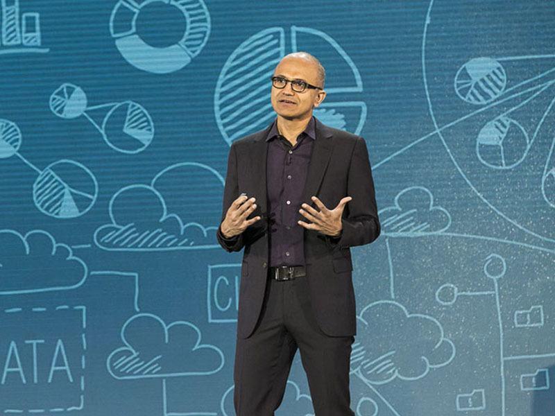 Microsoft CEO Satya Nadella warns of 'tough choices' for software giant