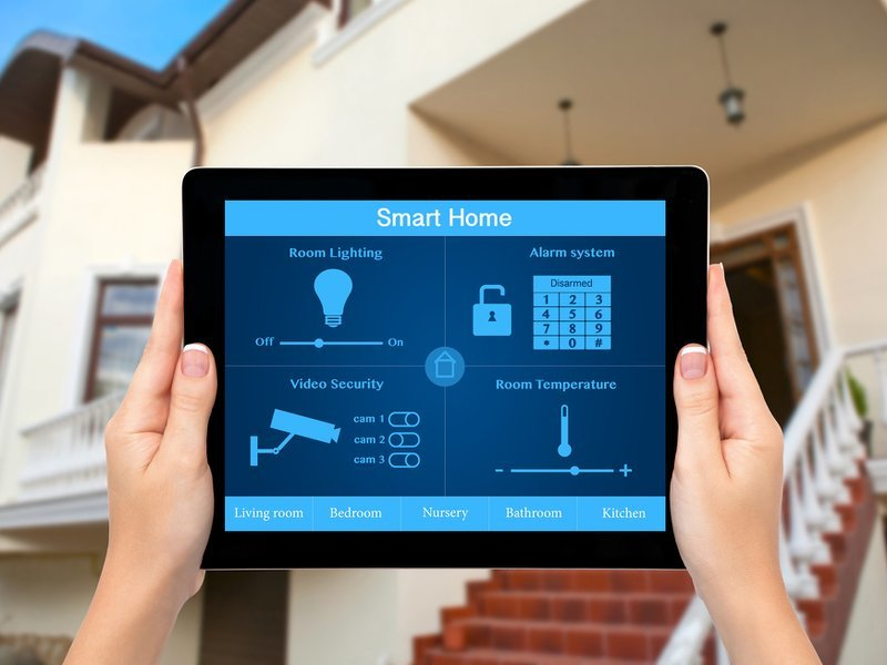 What happens in a smart home? (infographic)