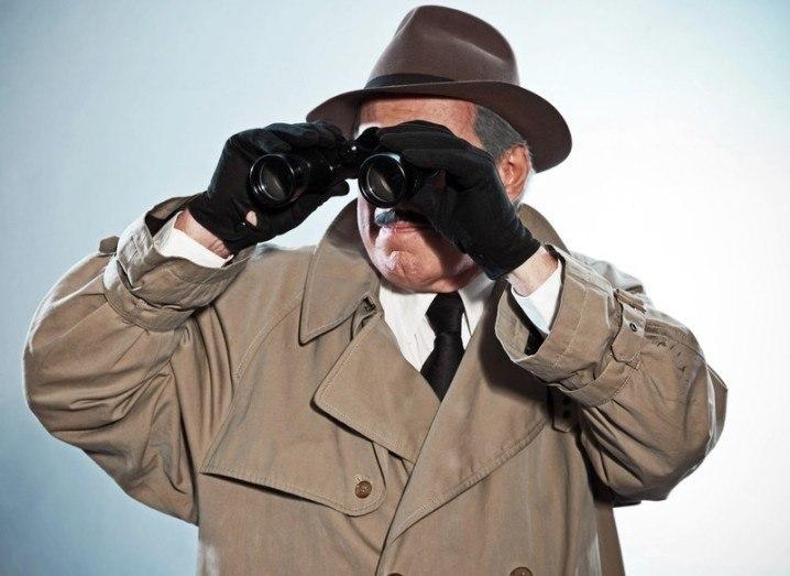 Surveillance spy binoculars