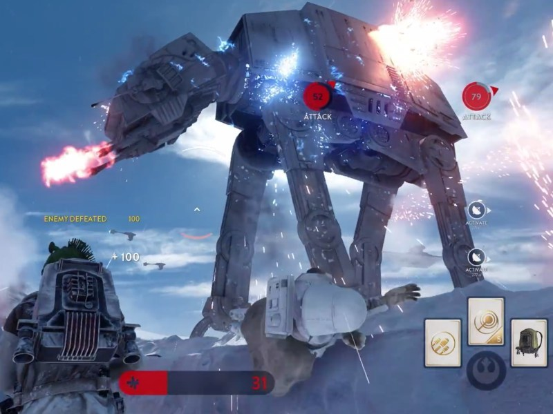 Star Wars Battlefront gameplay footage at E3 incredibly authentic