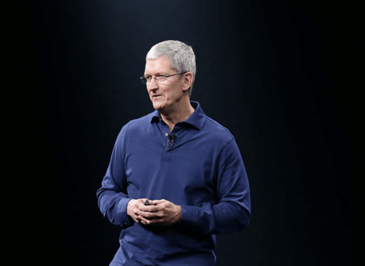 Tim Cook at WWDC 2015