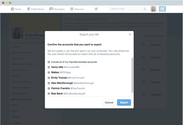 twitter-export-list