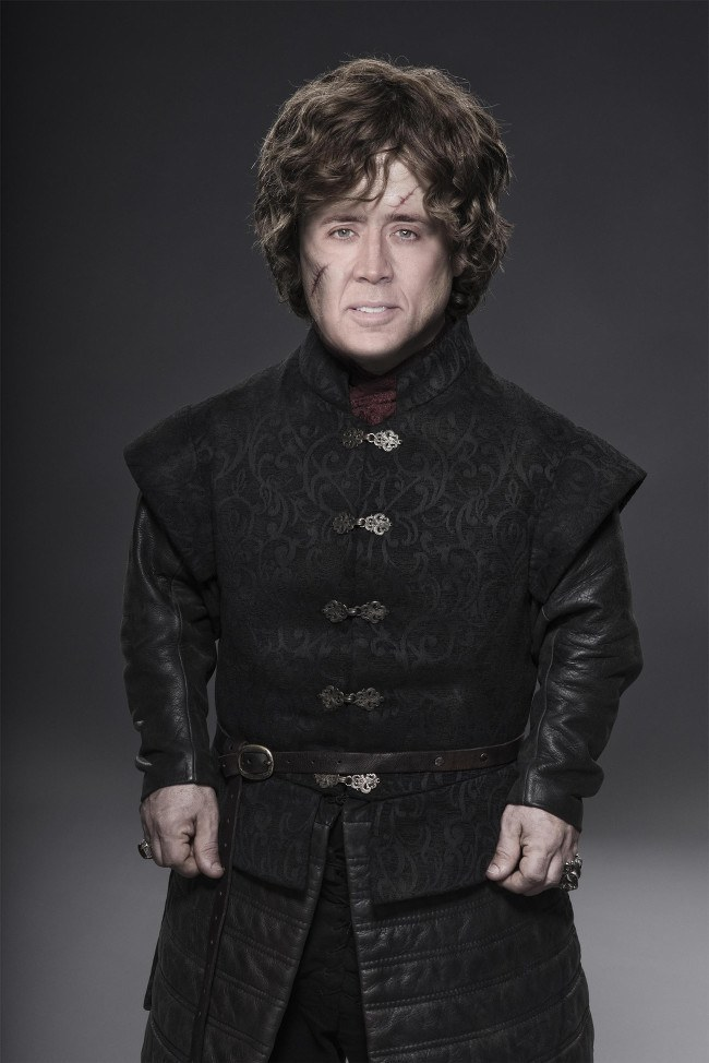 Nicolas Cage as Tyrion Lannister, Game of Thrones cast