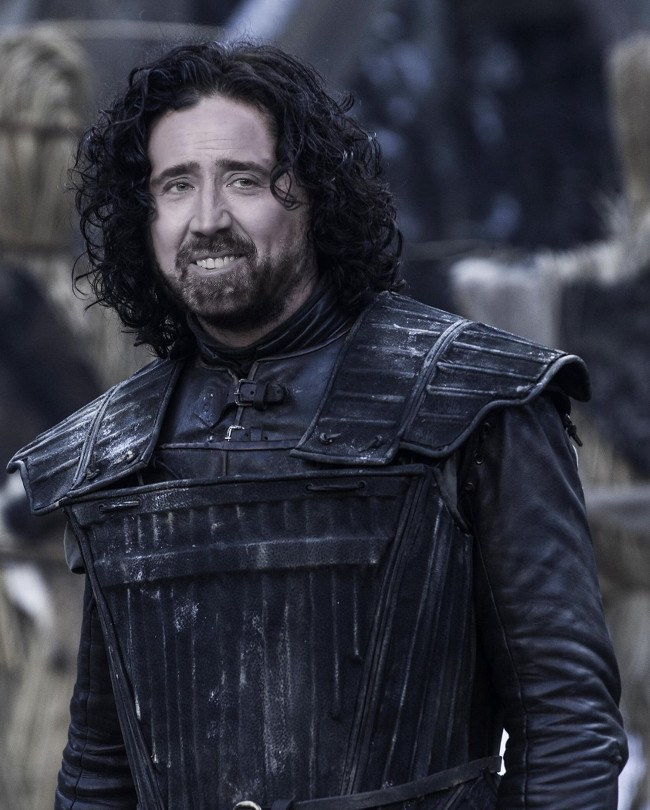 Nicolas Cage as Jon Snow, Game of Thrones