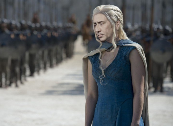 Nicolas Cage as Daenerys Targaryen, Game of Thrones