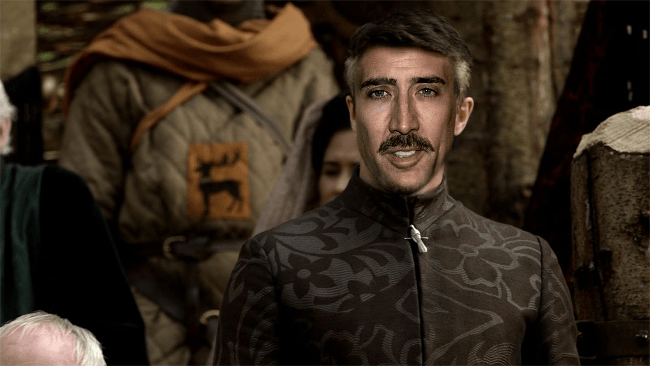 Nicolas Cage as Petyr Baelish, Game of Thrones cast