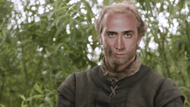 Nicolas Cage as Ser Jorah Mormont, Game of Thrones cast