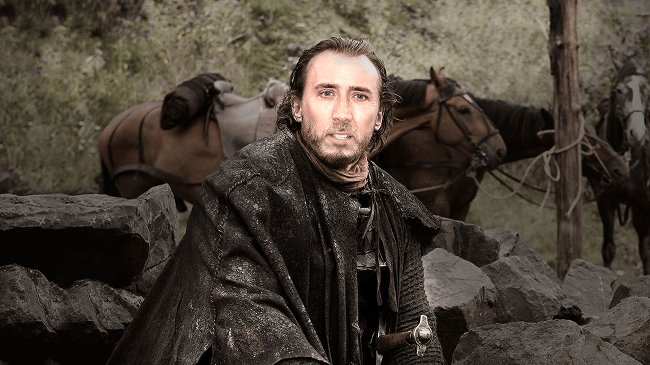 Nicolas Cage as Bronn, Game of Thrones cast