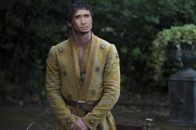 Nicolas Cage as Prince Oberyn Martell, Game of Thrones
