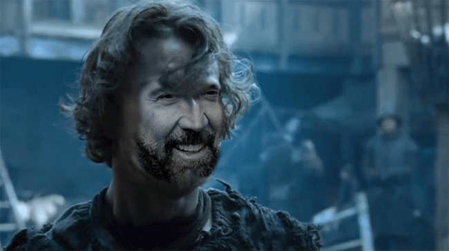 Nicolas Cage as Theon Greyjoy, Game of Thrones