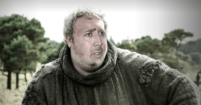 Nicolas Cage as Hodor, Game of Thrones