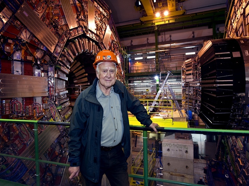 Prof Peter Higgs honoured for Higgs boson discovery