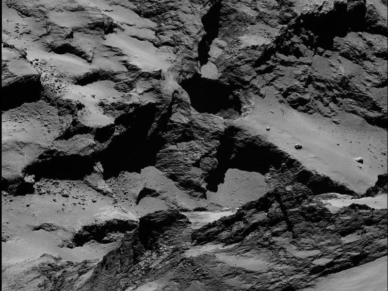 Comet 67p sinkholes throw origin of comets into question